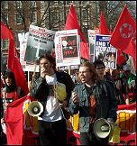 ISR Demonstrating against the war on Iraq 19 March 2005