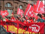 CWI on the demo in Scotland