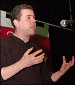 Mark Serwotka, general secretary of the civil servants' union PCS