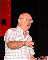 Socialist Party general secretary Peter Taaffe