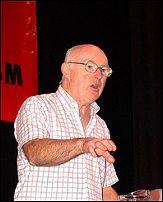 Socialist Party general secretary Peter Taaffe