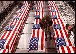 Rows of coffins of US soldiers - pictures the US banned