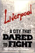 Liverpool - a City that Dared to Fight. Cover by Alan Hardman