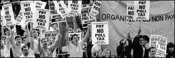 Defeating Margaret Thatcher's hated Poll Tax in 1989-1991