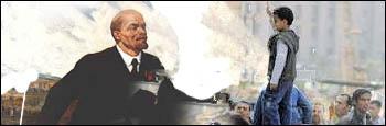 Lenin greets the revolutionary masses in Egypt
