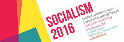Come to Socialism 2016