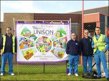 NHS Logistics workers in Runcorn