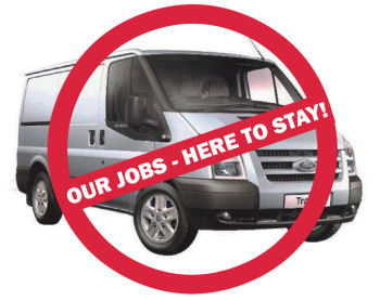 Fords: Our jobs - here to stay