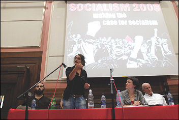 Socialism 2008, photo Paul Mattsson