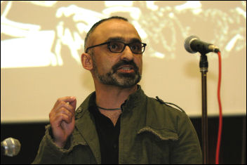 Onay Kasab at Socialism 2008, photo Paul Mattsson