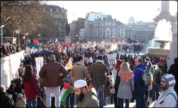 London demonstration against Israel