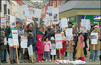 Bangor demonstration against Israel