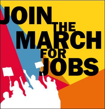 Join the march for jobs