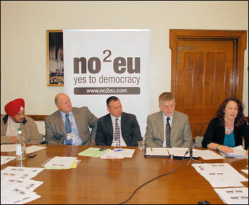 Press conference as RMT launches Euro challenge in 2009, photo by Suzanne Beishon