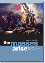 The Masses Arise by Peter Taaffe, design Dennis Rudd