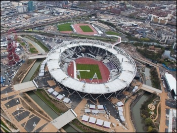 2012 Olympic Stadium, London, photo EG Focus on wiki commons