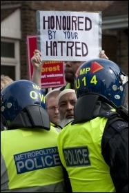 Anti-EDL demo, Walthamstow, 1.9.12, photo by Paul Mattsson