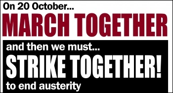 March together - strike together