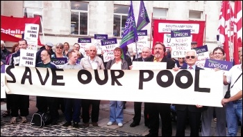 Save Oaklands Pool! , photo by Southampton SP