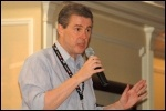 Mark Serwotka at the NSSN lobby of the TUC 2012, photo Serena
