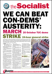 The Socialist issue 734