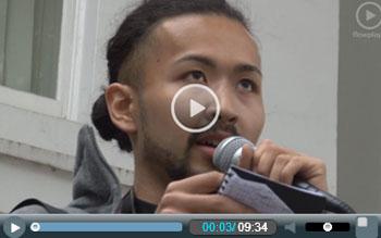Free Aron Atabek! Campaign Kazakhstan protest outside the Kazakhstan Embassy, London, video  Socialist Party