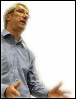 John McInally, national vice-president of the PCS, photo Paul Mattsson