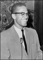 Malcolm X, 12 March 1964, photo Library of Congress. New York World-Telegram & Sun Collection, Ed Ford, World Telegram staff photographer