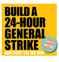 Build a 24-hour general strike, photo by  Socialist Party