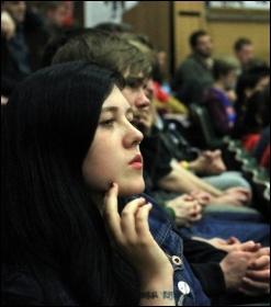 Socialism 2011 audience, photo by Paul Mattsson