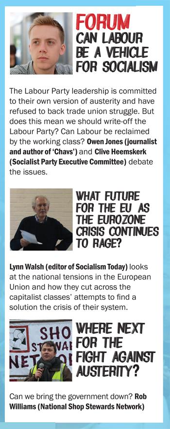 Socialism 2012 highlights