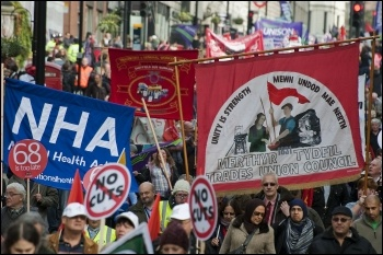 20th October 2012 TUC demo, photo Paul Mattsson