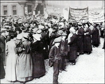 Glasgow 1915 Rent Strike, photo East Lothian Museums