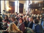 Admin staff strike, Mid Yorkshire NHS Trust, rally on 1st November 2012, photo Iain Dalton