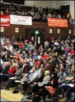 Socialism 2012 Saturday rally, photo Senan