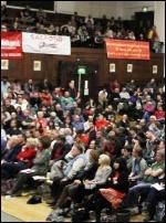Socialism 2012 Saturday rally, photo Senan