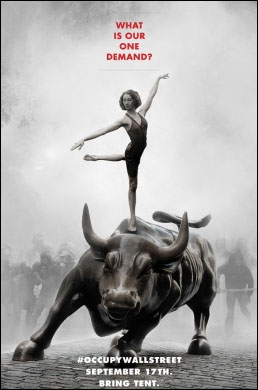 Occupy Wall Street, poster by Adbusters