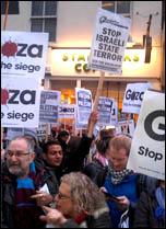 Gaxa protest Nov 12, photo by Neil Cafferky