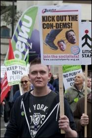 20 October 2012 TUC demo against austerity , photo Paul Mattsson