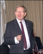 Len McCluskey, 23.1.13, photo Bob Severn