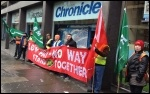 Churchill cleaners, Tyne & Wear metro, Jan 2013, photo Paul Phillips