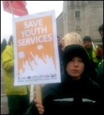 Southampton budget 'commended to the dustbin' by protesters, photo Paul Callanan