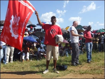 South African supporters of the Democratic Socialist Movement, section of the CWI, photo S. Figg