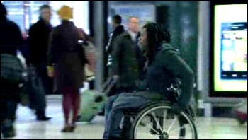 Britain on Benefits: Channel 4 Dispatches - a refreshing challenge to the government's cuts to welfare and disabled people, photo Channel Four Dispatches screen shot
