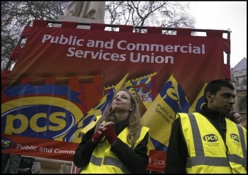 PCS members deserve a fighting, democratic union, photo Paul Mattsson