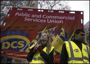 PCS members deserve a fighting, democratic union, photo Paul Mattsson