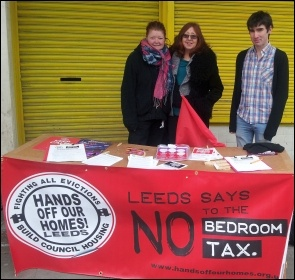 Campaigning in Armley