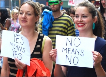 London slutwalk June 2011, photo by Sarah Wrack