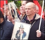 Ford Dagenham protest outside Ford UK headquarters, photo P Mason