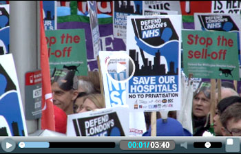 Stop the health cuts! Trade union-led national action on NHS needed now